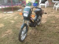 TOMOS A35 TARGA MOPED