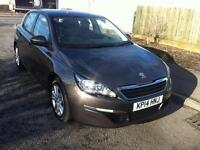Peugeot 308 1.6HDi ( 92bhp ) 2014MY Active