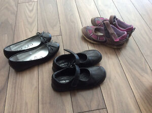 Size 13 and 1 Girls shoes
