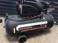 Airmate sip 50 litre air compressor VGC