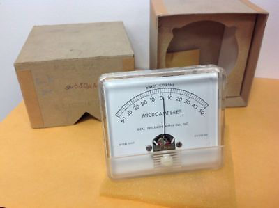 Vintage Electronic Meter Ideal Precision Model 350p