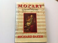 Mozart An Illustrated Biography by Richard Baker Paperback Book