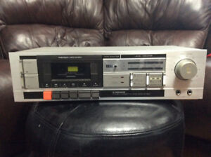 RARE PIONEER CT 501 STEREO CASSETTE DECK AS IS FOR REPAIR