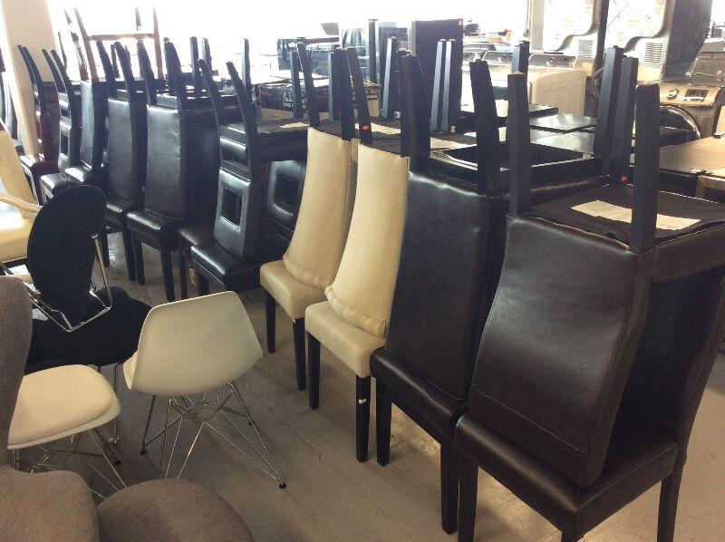 Grand choix de chaise et tabouret neuf en liquidation for Kijiji montreal furniture