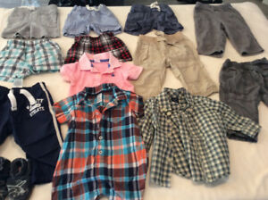 Boys 0-6 Month Clothing Lot (over 120 items)