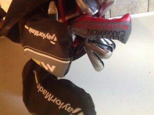 Full bag of awesome clubs, can sell individually