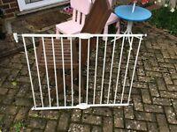 Lindam metal stair gate