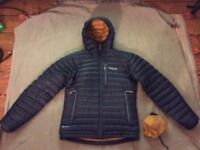 Rab Microlight jacket - small - only 2 weeks old and in great condition