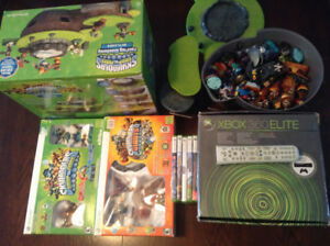 xbox 360 elite 120GB with accessories