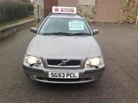 2003 Volvo V40 1.6 2004MY S Manual Silver metallic Estate