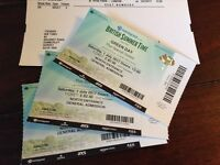 Green Day Tickets x 3