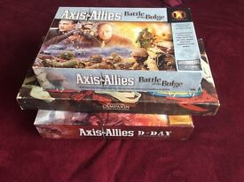 Board games, Axis & Allies D-Day and Battle of the Bulge, Waddingtons Campaign