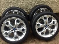 """Ford Kuga Titanium 19"""" wheels and tyres perfect."""