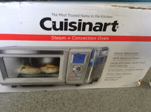 New Cuisinart Toaster Oven and Steamer