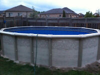 12' X 18' Above Ground Oval Pool