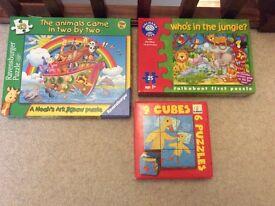 Animal Jigsaw Toy Children's Game Bundle