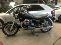 2010 Moto Guzzi California. 7000 miles. Matt black. Lovely bike.