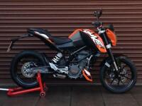 KTM Duke 125 ABS Only 3550miles. Nationwide Delivery Available.