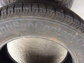Single winter tyre