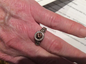 1 1/4 cts Le Vian chocolate diamond ring size 9