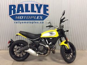 2015 Ducati Scrambler Icon '62 Yellow
