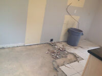 """FLOOR REMOVAL EXPERTS! BOOKING NOW! """"DYNASTY DEMO"""" 289.456.4083"""