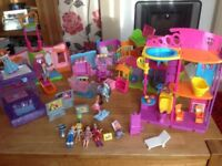 Polly Pocket Collection.