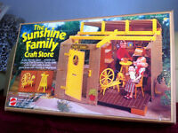 1974 vintage The Sunshine Family Craft Store