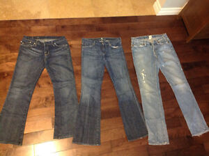 Designer jeans in good condition London Ontario image 1