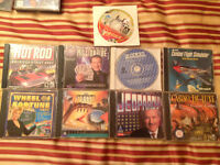 Assorted Vintage PC Games