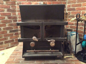 Wood-Burning Stove in Good Working  Condition
