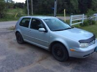 2000 Volkswagen Golf Coupe (2 door)