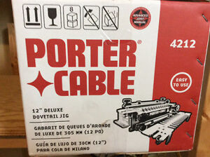 Porter Cable 12 inch Deluxe dovetail jig