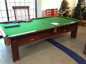 Pool Table with Cues and Balls  #HFHRestore
