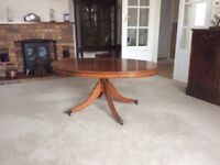 Reproduction Oval Regency Coffee Table