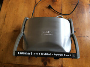New Cuisinart 5 in 1 Griddle