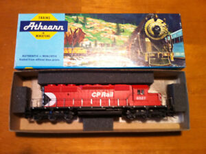 HO CP RAIL SD40-2 DIESEL LOCOMOTIVE # 6027 BY ATHERN TRAINS