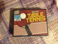 Mini ping pong/table tennis 5$