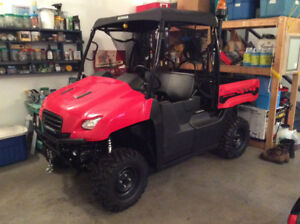 2013 Honda Big Red MUV with winch/plow