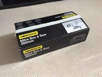 Homebase Mitre Box & Saw 350mm