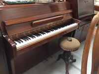 Zender Upright OverStrung Piano : Absolutely Perfect Condition