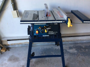 TABLE D'ETABLI MASTERCRAFT (  TABLE SAW )