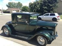 1932 Plymouth coup hot rod
