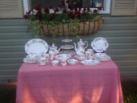 Lavender Rose China Dishes