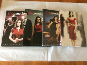 The Good Wife Seasons 1-4 DVD series