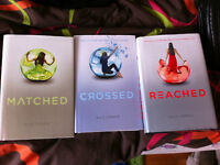 Matched, Crossed, & Reached by Ally Condie book set