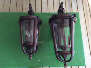 Two QUOIZEL Exterior Light Fixtures - BRAND NEW