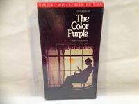 THE COLOR PURPLE VHS MOVIE ( FACTORY SEALED )