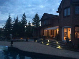 ****STONE PATIO, LANDSCAPING AND DECKS****