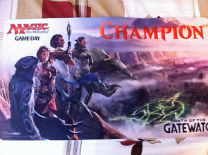 playmat gameday oath of the gatewatch magic the gathering (mtg)